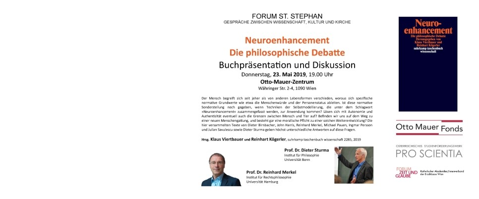 Buchpräsentation Neuroenhancement